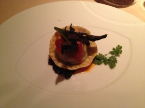 Braised Oxtail and Cherry Ravioli